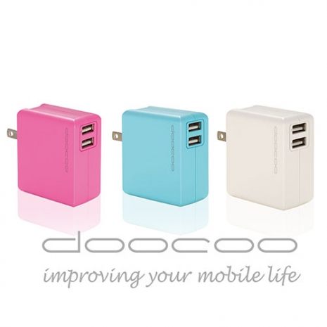 doocoo itofu3 3.4A智慧型USB輕巧快速充電器