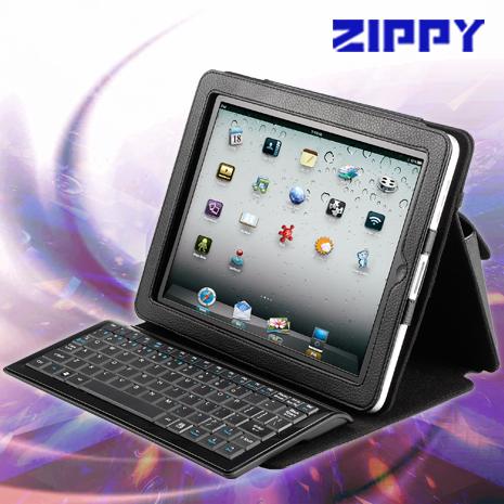 ZIPPY BT-540 iPad藍芽鍵盤皮套組