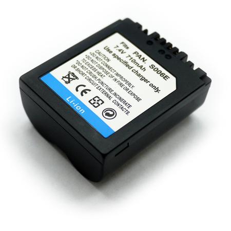 Panasonic CGA-S006/ S006E/ BMA7/ FZ8/ FZ30/ FZ50 數位相機電池 鋰電池 (副廠)