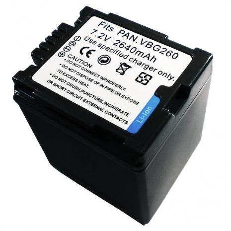 Panasonic VW-VBG260 數位相機電池 鋰電池 (副廠)