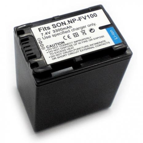 SONY NP-FV100/ SR80/ SX63E/ HDR-PJ50/ NEX-VG10 數位相機電池 鋰電池 (副廠)
