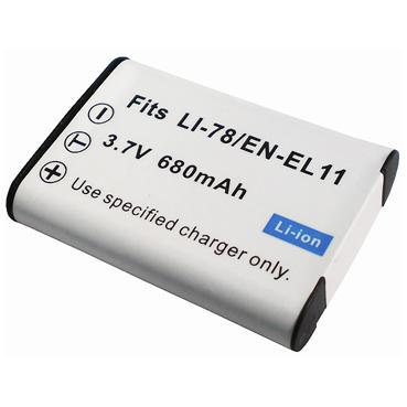 Nikon EN-EL11/ PENTAX D-Li78/ Li-60B 數位相機電池 鋰電池 (副廠)
