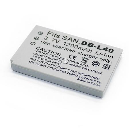 SANYO DB-L40 DBL40/ Xacti DMX-HD1 HD2 數位相機電池 鋰電池 (副廠)