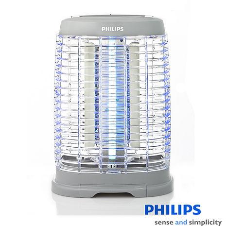 【飛利浦PHILIPS】15W光觸媒除菌捕蚊燈 E350
