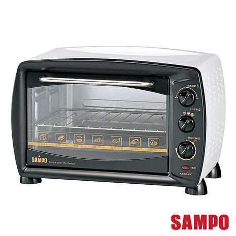 【聲寶SAMPO】30公升旋風大烤箱 KZ-SB30C