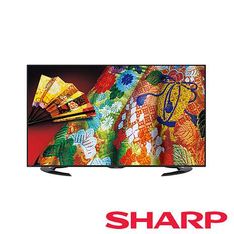 夏普SHARP50吋AQUOS超薄4K液晶電視LC-50U30T