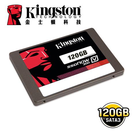 金士頓Kingston SSDNow V300 120GB 2.5吋 SATAⅢ固態硬碟(單機包裝)