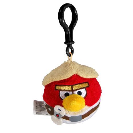 憤怒鳥 星際大戰 絨毛吊飾-路克