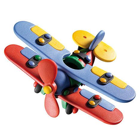 代理 德國mic-o-mic益智模型-雙翼飛機