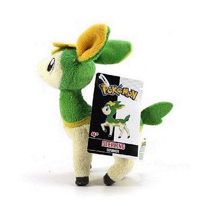 代理 精靈 寶可夢 神奇寶貝 超級願望 四季鹿 夏天的樣子 (薄荷綠) 絨毛玩偶