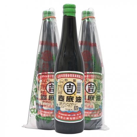 (活動)丸吉 特製釀造 甲等壼底油 520ml 三瓶入