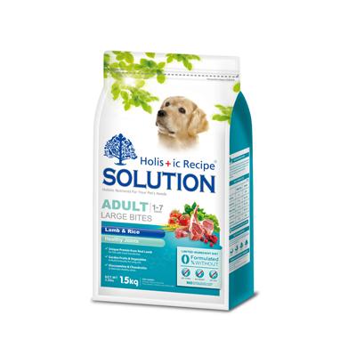 耐吉斯《成犬(羊肉+田園蔬果/(大顆粒)》狗飼料1.5公斤