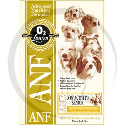 美國愛恩富ANF《老犬保健配方/小顆粒》狗飼料3kg