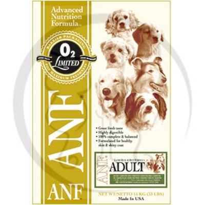 美國愛恩富ANF《成犬(羊肉)配方/小顆粒》狗飼料3kg