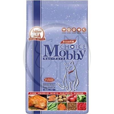 莫比Mobby 挑嘴成貓專用 貓飼料 3kg 1包