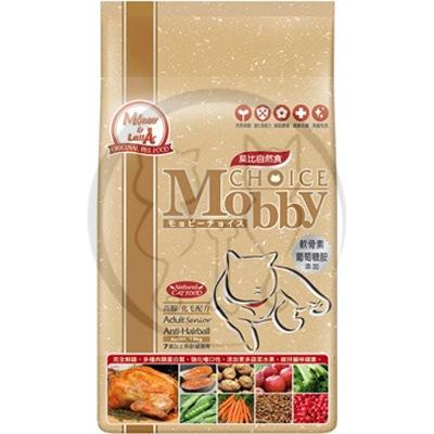 莫比Mobby 高齡貓專用配方 貓飼料 3kg 1包
