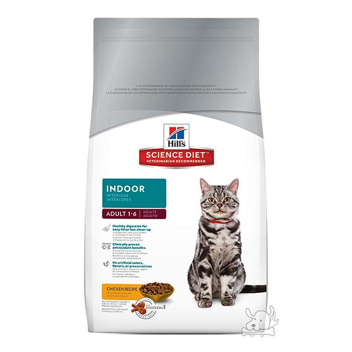 Hill's 希爾思 室內成貓專用配方 乾糧 4公斤