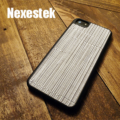 (買殼送保護貼) Nexestek iPhone 5/5S/SE日系TATAMI 防滑手編織感手機保護殼 - 白色