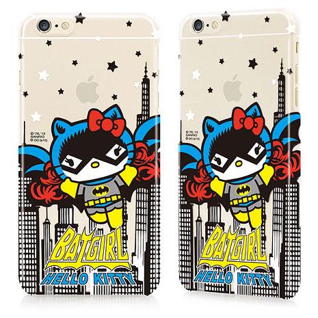 GARMMA Hello Kitty iPhone 6/6S Plus5.5吋保護殼-蝙蝠俠聯名款