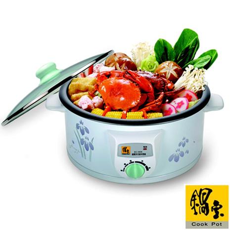 【鍋寶】3.5L多功能料理鍋(D-EC-3508)