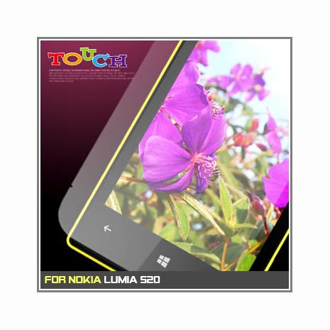 Nokia Lumia 520專用高透防刮無痕螢幕保護貼