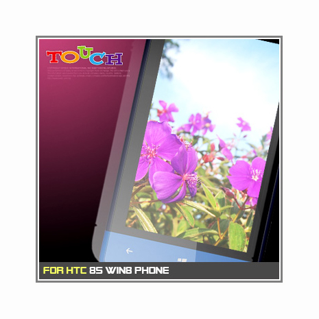 HTC 8S Win8 Phone / A620e專用高透防刮無痕螢幕保護貼