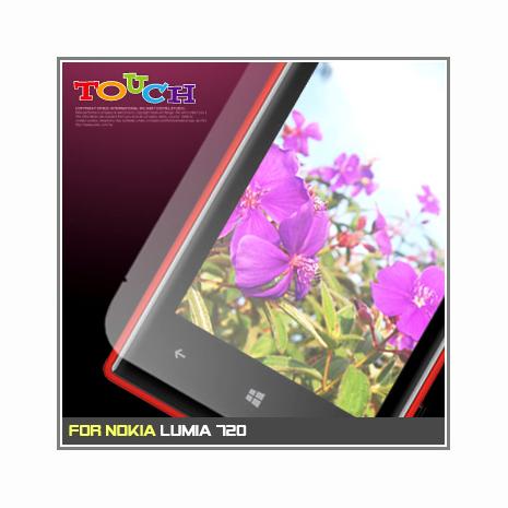 Nokia Lumia 720專用高透防刮無痕螢幕保護貼