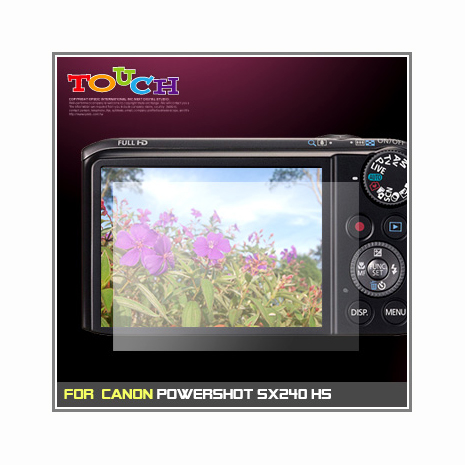 Canon PowerShot SX240 HS專用高透防刮無痕螢幕保護貼