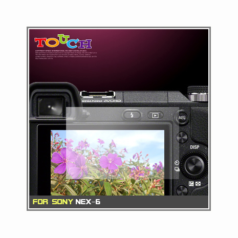 Sony NEX-6專用高透防刮無痕螢幕保護貼