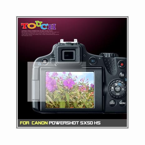 Canon PowerShot SX50 HS專用高透防刮無痕螢幕保護貼