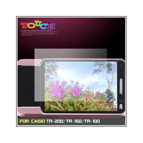 CASIO TR-200/TR-150/TR-100通用型高透防刮無痕螢幕保護貼