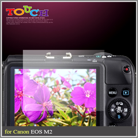 Canon EOS M2專用高透防刮無痕螢幕保護貼