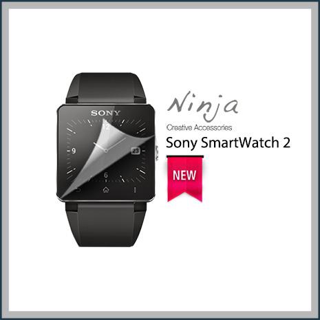 【東京御用Ninja】Sony SmartWatch 2 SW2專用高透防刮無痕螢幕保護貼