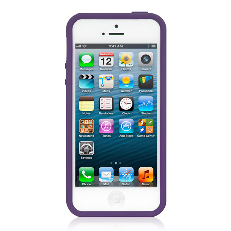 LUXA2 ACE 彩色 iPhone5/5S保護框-紫