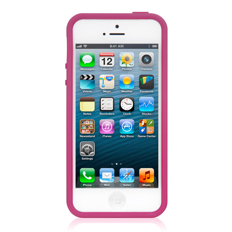 LUXA2 ACE 彩色 iPhone5/5S保護框-粉