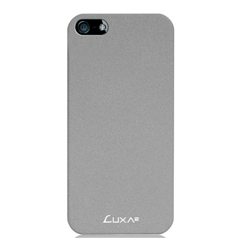 LUXA2 Sandstone iPhone5/5S磨砂保護殼-灰