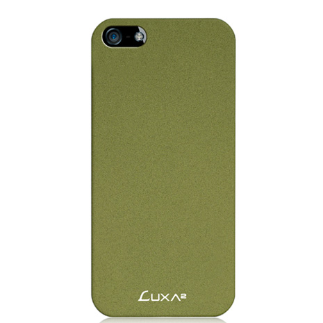 LUXA2 Sandstone iPhone5/5S磨砂保護殼-綠
