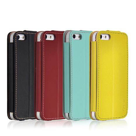 LUXA2 Bliss iPhone 5/5S真皮站立式保護皮套