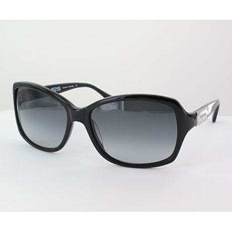 Michael Kors 時尚太陽眼鏡-黑框/黑色鏡面