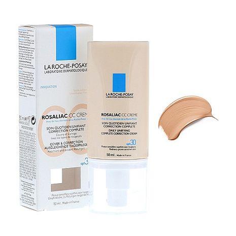 (任兩件8折活動)La Roche Posay 理膚寶水 舒緩保濕防曬CC霜 50ml
