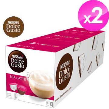 雀巢NESCAFE 紅茶拿鐵膠囊(Tea Latte)【3盒X2條組】
