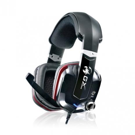 GX Gaming CAVIMANUS HS-G700V 紅爪蠍 - 3D專業電競震動耳麥