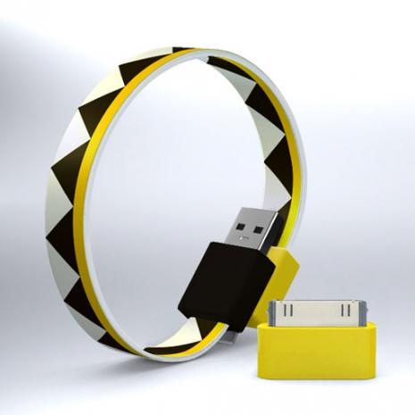 Mohzy USB 環狀傳輸線(附轉接頭) - 三角形