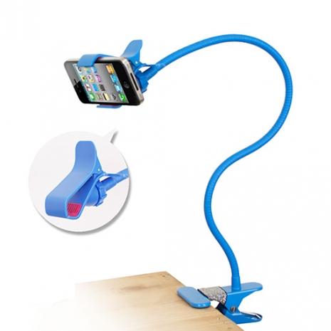 IP-MA7 懶人專用 多彩智慧型手機萬用支架 - 藍色