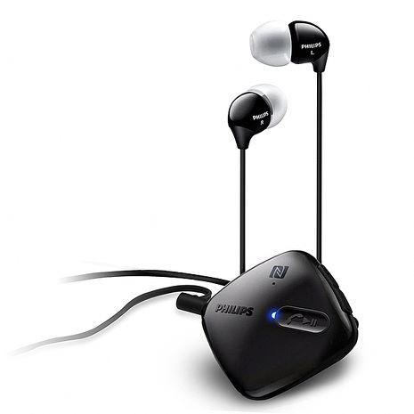 PHILPS 飛利浦 SHB5100 入耳式無線藍牙耳機麥克風(可NFC配對)