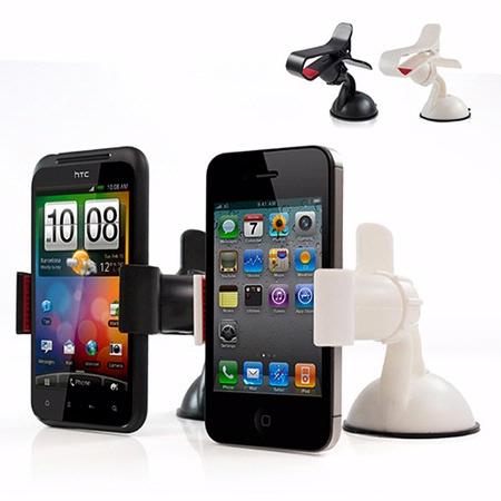 (抓寶聖品)IP-MA6 智慧型手機專用 夾式吸盤車架
