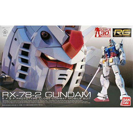【BANDAI】GUNDAM鋼彈/RG 1/144 RX-78-2 鋼彈(30週年紀念版) 01