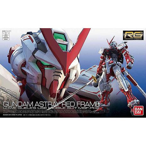 【BANDAI】GUNDAM鋼彈/RG 1/144 MBF-P02 紅色異端鋼彈 19