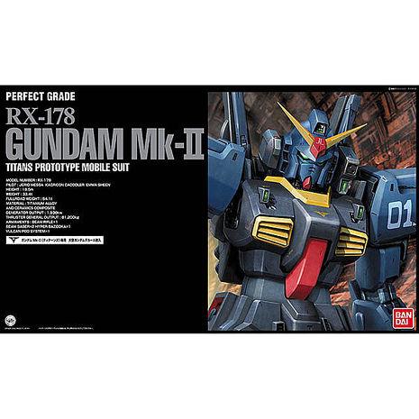 【BANDAI】機動戰士Z鋼彈/PG 1/60 RX-178 鋼彈MK-II(迪坦斯)
