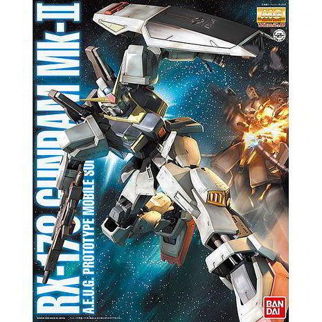 【BANDAI】GUNDAM鋼彈/MG 1/100 RX-178 MKII/MK2鋼彈Ver.2.0(幽谷)